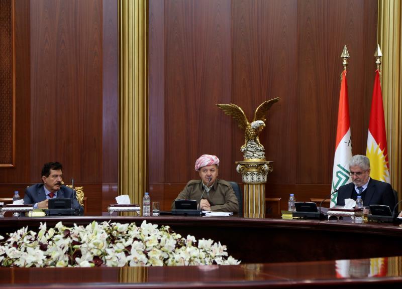 البرزاني: العراق مقسم والثقافة الموجودة ليست ثقافة تعايش
