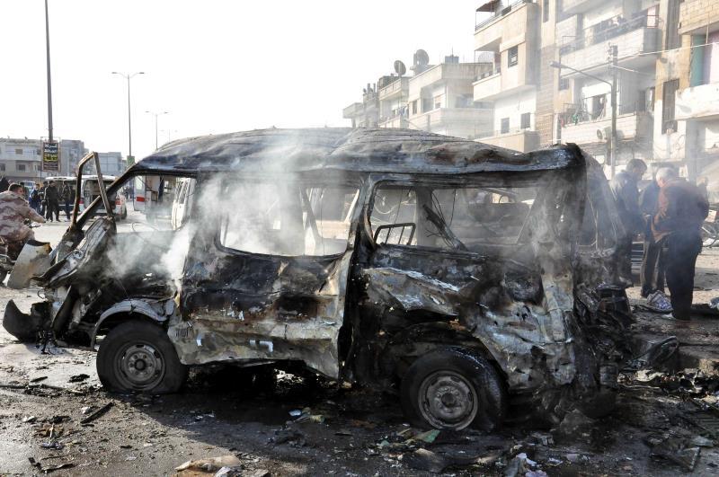 من تفجير حمص الأخير