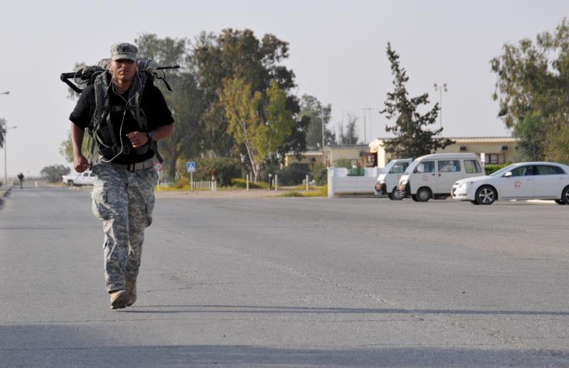 جندي أميركي من قوات حفظ السلام الدولية في سيناء