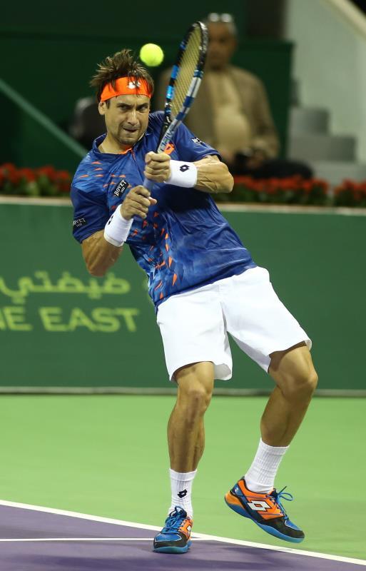 فقد فيرير لقبه في دورة الدوحة (كريم جعفر ــ أ ف ب)