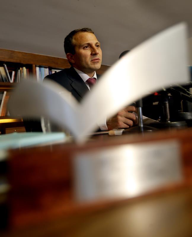 باسيل:  الدعوة الى التهدئة تنسجم مع سياسة الحكومة