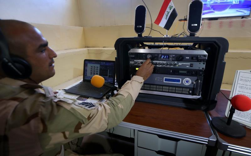 وصول وحدات من الفرقة 15 التابعة للجيش العراقي إلى مخمور استعداداً لتحرير الموصل