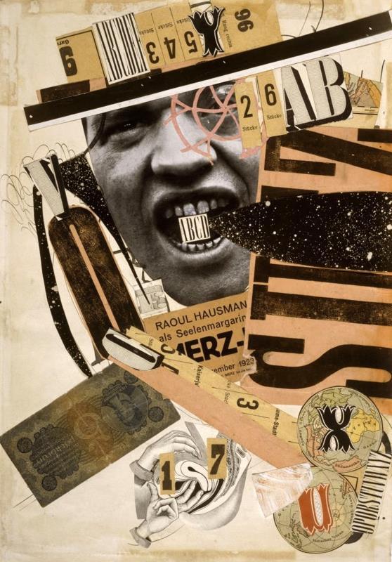 عمل للفنانة الألمانية هانا هوخ (1889 ــ 1978)