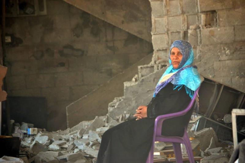 غزة بعد العداون تصوير رهام الغزالي