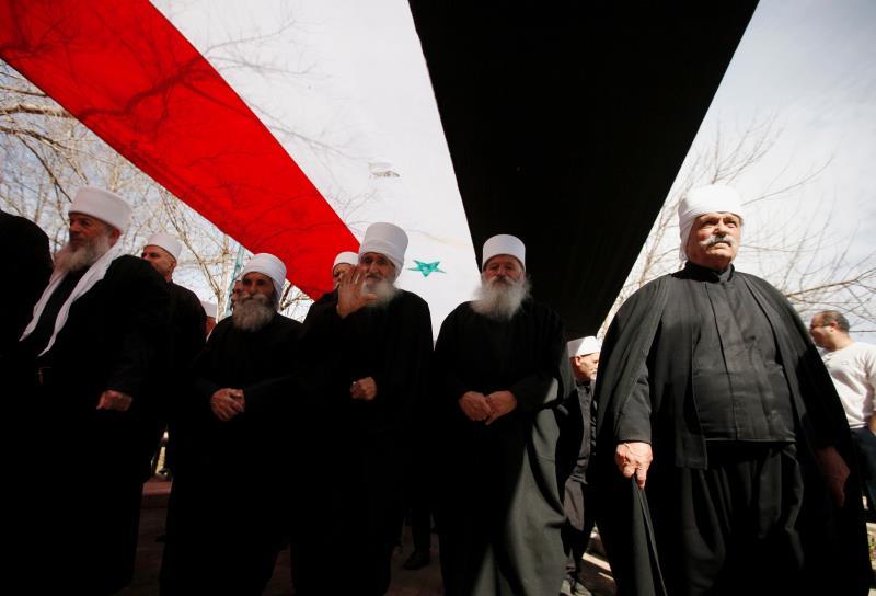 من إحياء ذكرى الانتفاضة على ضمّ الجولان في قرية بقعاثة المحتلة أمس