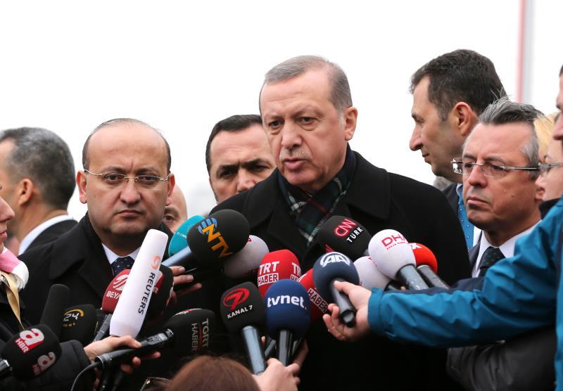 إردوغان: «سنقول (لواشنطن) أين وكيف انفجرت الأسلحة التي يعطونها لهذه التنظيمات»