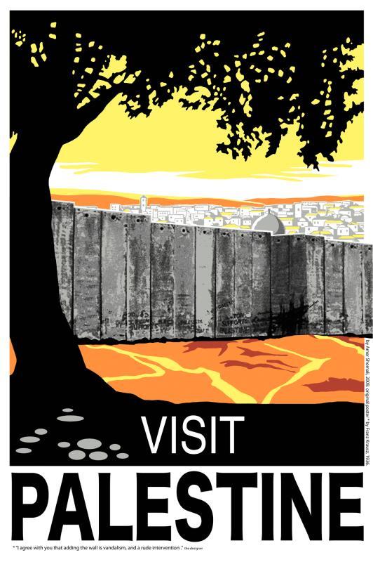 """""""زوروا فلسطين"""" ( من اعمال الفلسطيني عامر الشوملي - ستديو زان)"""