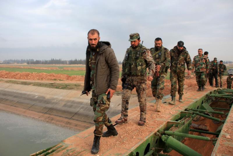 سيطر الجيش على نحو 127 كلم مربعاً في ريف حلب الشرقي