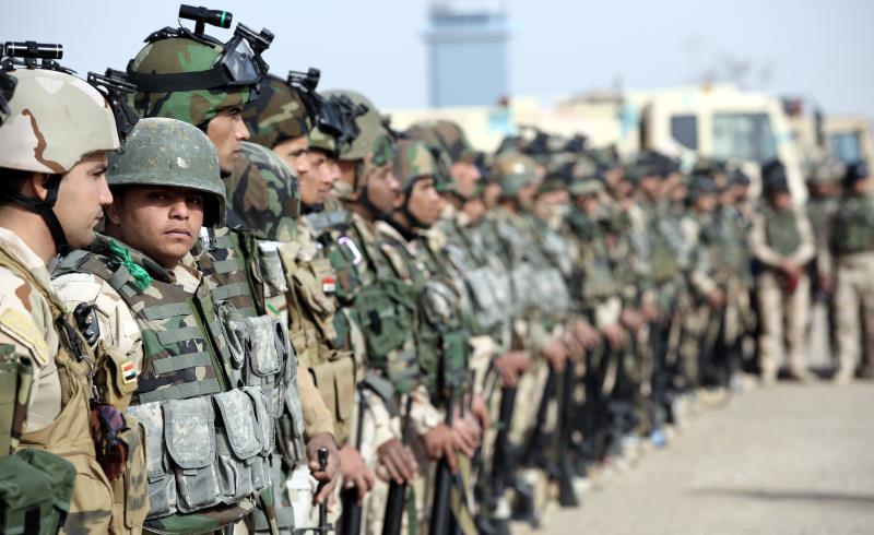 وصلت تعزيزات إضافية إلى مخمور، أمس، للمشاركة في تحرير الموصل
