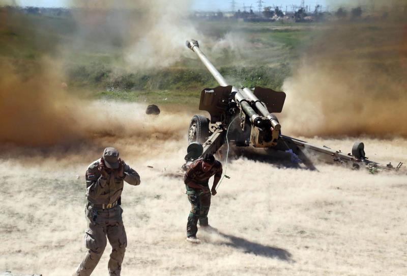 """وقعت اشتباكات بين """"داعش"""" وأهالي الجانب الأيسر في الموصل"""