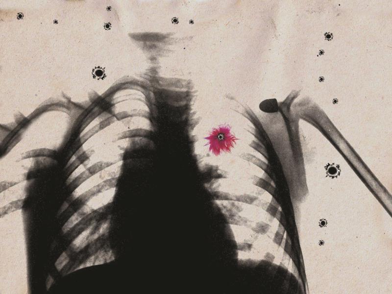 «رصاصة» للفنان السوري تمام عزام (2012)