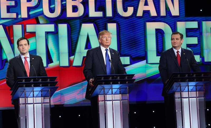 بادر روبيو إلى انتقاد مواقف ترامب بشأن الهجرة