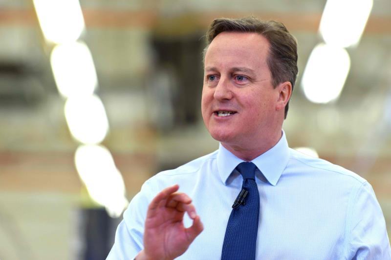 """رحّب كاميرون بـ""""التقدم الحقيقي في المجالات الأربعة التي تحتاج فيها بريطانيا إلى تغيير"""""""