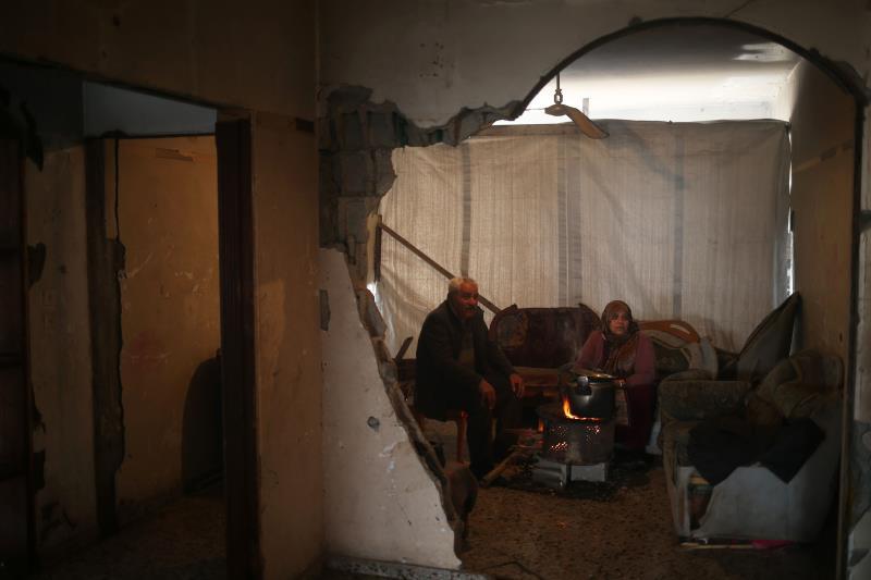 دمَّر القصف الإسرائيلي ٢٤٠٠٠ منزل تدميراً كلياً أو جزئياً خلال العدوان الأخير على غزة