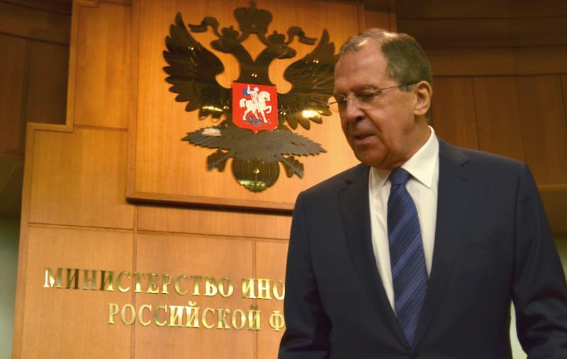 لافروف: روسيا لن تنسى أبداً تواطؤ تركيا مع الإرهابيين