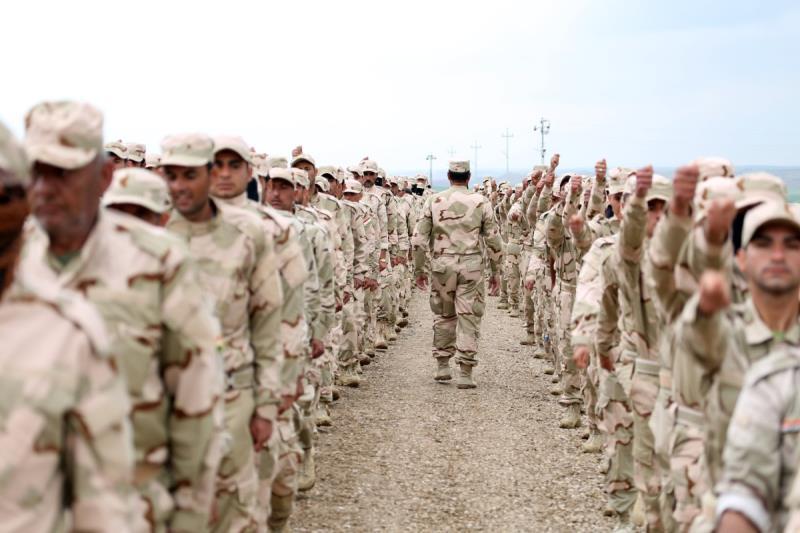 سورجي: أكثر من 4000 مقاتل تخرجوا من معسكرات الحشد الوطني (إنترنت)