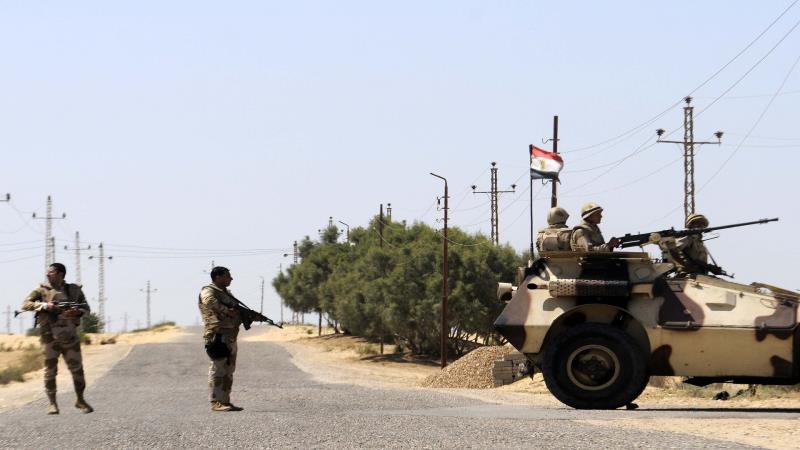 ضُبطت خرائط وصور في حوزة خلية إرهابية في منطقة جنوب العريش تضم مخططاً لعملية مسلحة