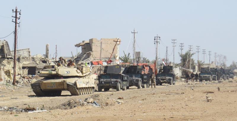 القوات العراقية تقترب من إعلان مدينة الرمادي خالية من داعش