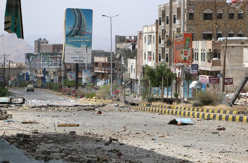 استهدفت الغارات السعودية مناطق في شرق صنعاء أمس