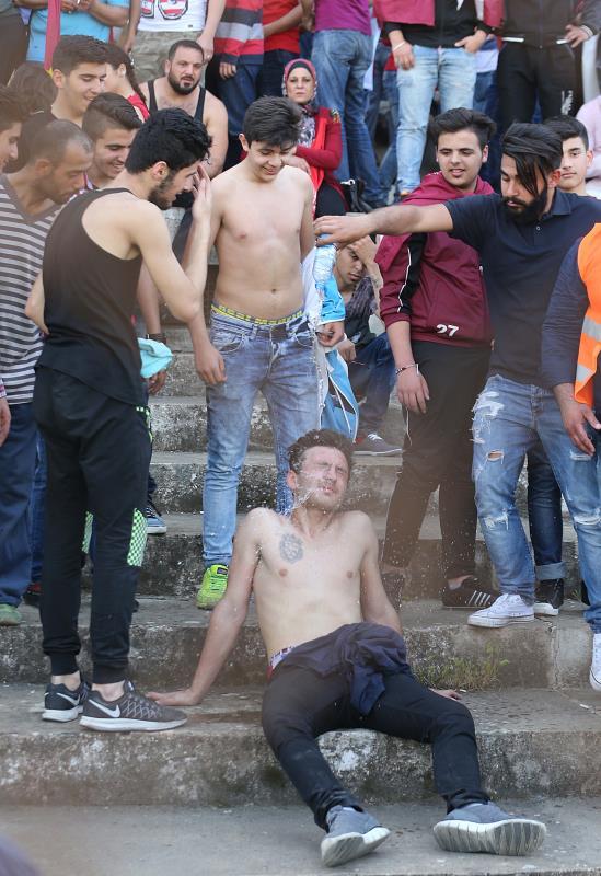 ثورة على واقع مرير عرفه الجمهور المظلوم في كرة القدم اللبنانية منذ سنوات