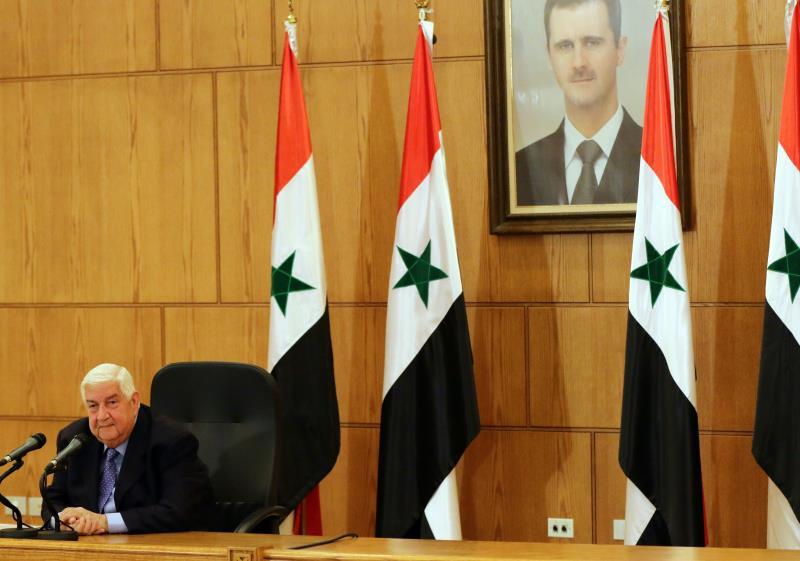 المعلم: مقام الرئاسة خطّ أحمر وملك الشعب السوري وحده