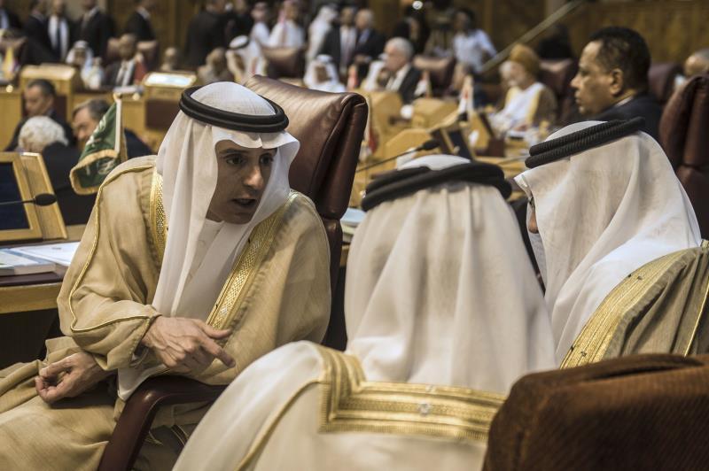عمل ابن سعود في إطار الجامعة العربية على رفض المقترحات التي تضرّ بمصالح الولايات المتحدة وبريطانيا
