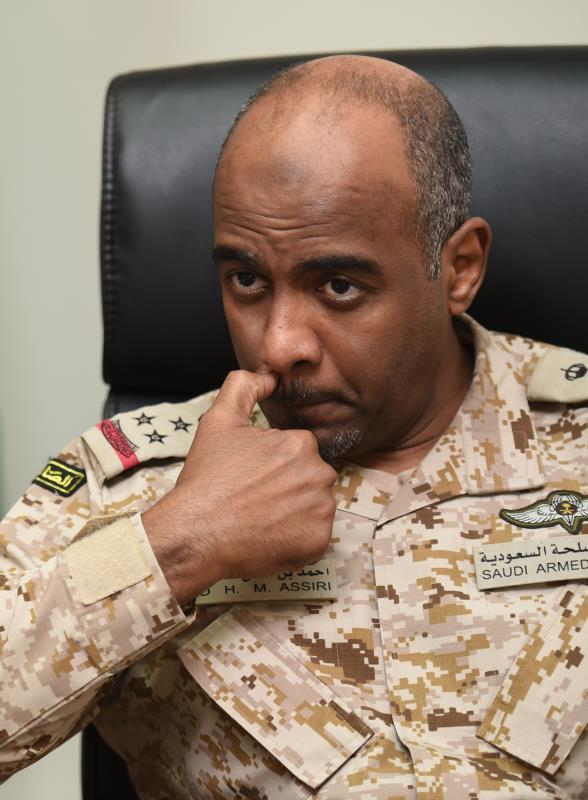 العسيري: المعارك توقفت تقريباً على طول الحدود السعودية اليمنية