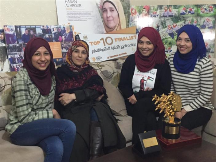 الحروب: جائزة «أفضل معلم» اعتراف دولي بفلسطين