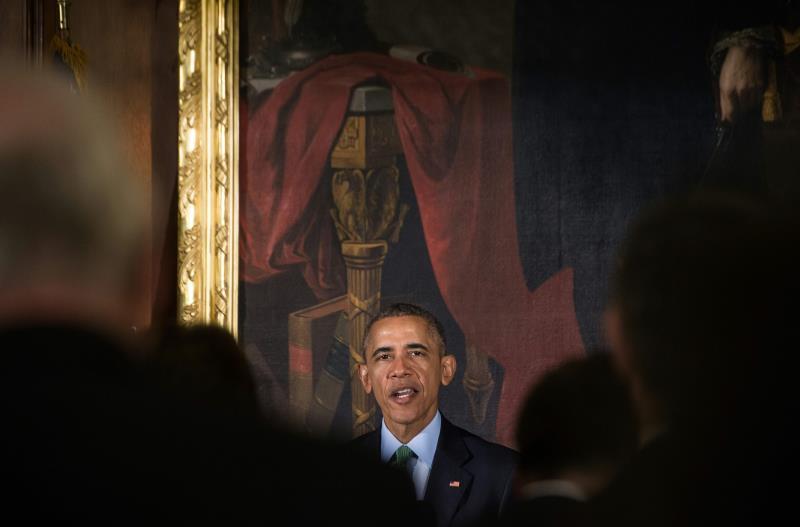 أخذ أوباما الفرصة كي يردّ على أقاويل طغاة الخليج ونقدهم له
