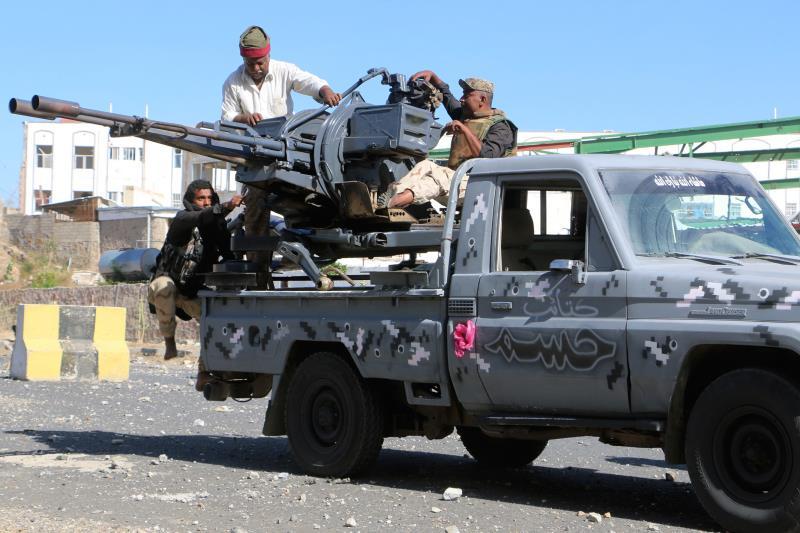 أفشل الجيش محاولات المسلحين التقدم باتجاه جبل الهان الاستراتيجي