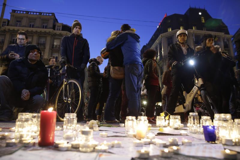 خلّفت الهجمات ما لا يقل عن 34 قتيلاً وأكثر من مئتي جريح (أ ف ب)