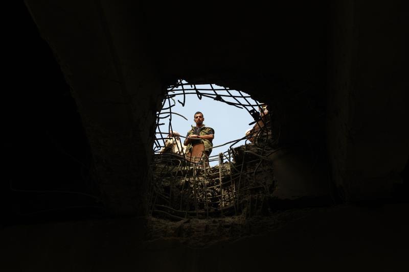 قتلت غارة أميركية 40 عنصراً من «القاعدة» في المكلا (أ ف ب)