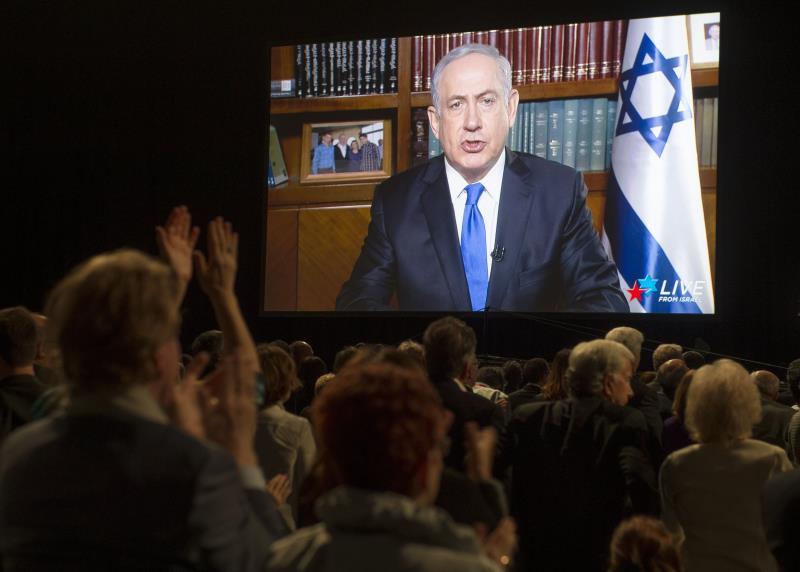 نتنياهو: «أمل داعش بخلافة في أوروبا» كأمل الفلسطينيين في أرضهم (أ ف ب)