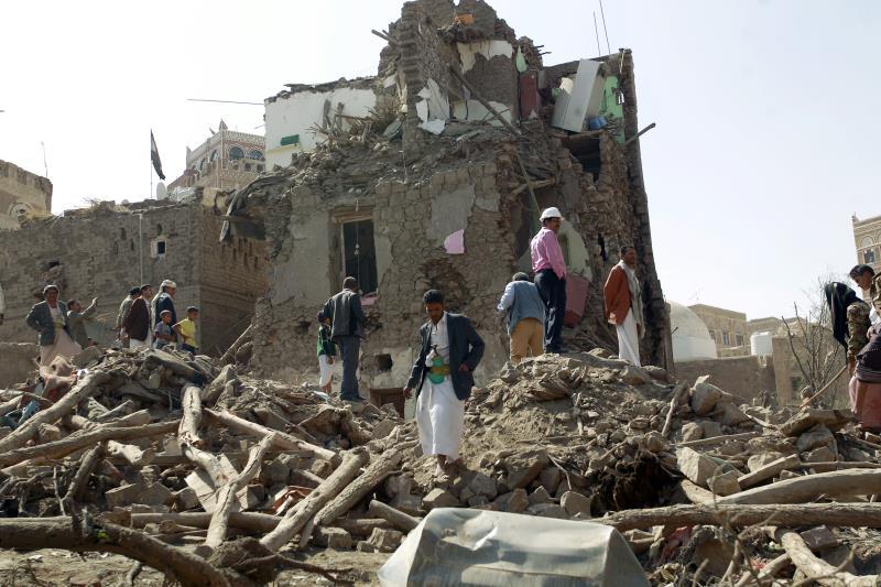 يدخل العدوان السعودي على اليمن اليوم عامه الثاني