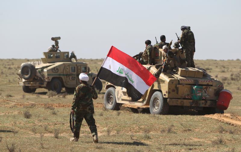 """الأسدي أكد تحرير جزيرة صلاح الدين عسكرياً على يد """"الحشد"""""""