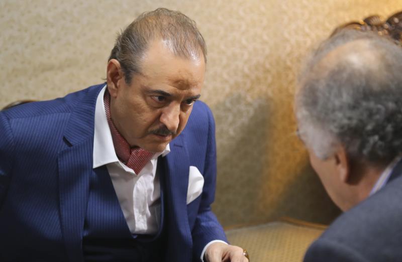 الممثل السوري في كواليس  تصوير «دومينو»