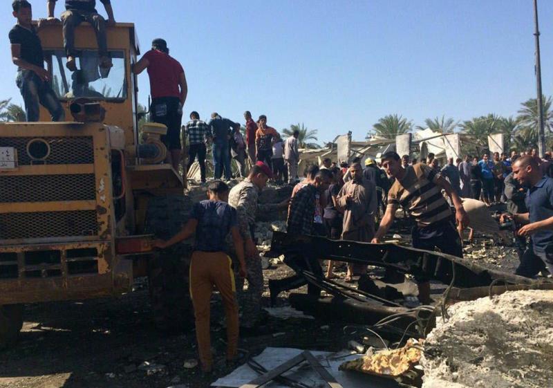 هزّ تفجير عنيف بشاحنة مفخخة مدينة الحلة الأثرية