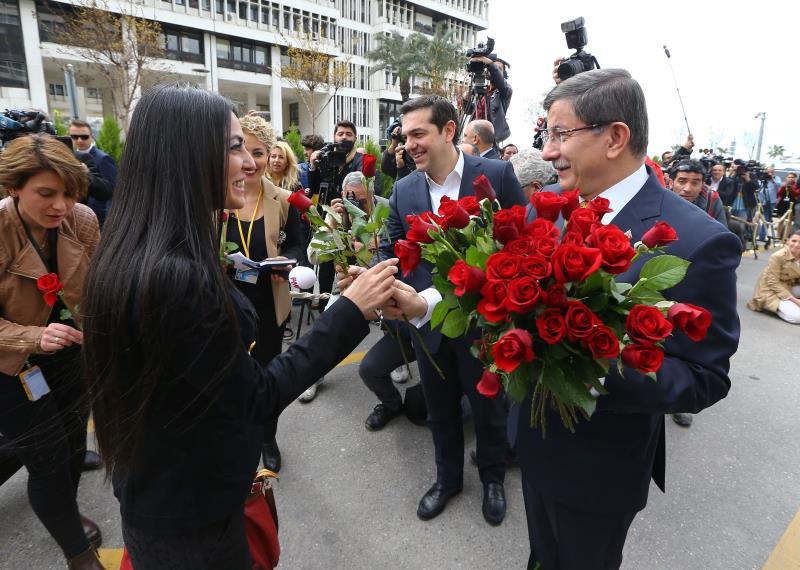 زار رئيس الوزراء اليوناني، الكسيس تسيبراس، تركيا أمس