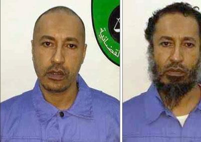 ليبيا تستعيد الساعدي القذافي