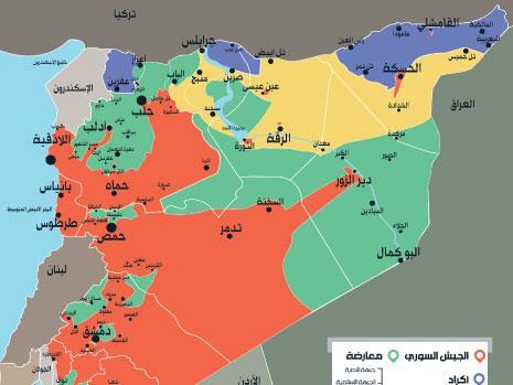 خريطة الميدان