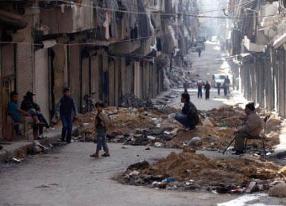 معبر بستان القصر في حلب: إذلال يومي وفرمانات «خنفشارية»