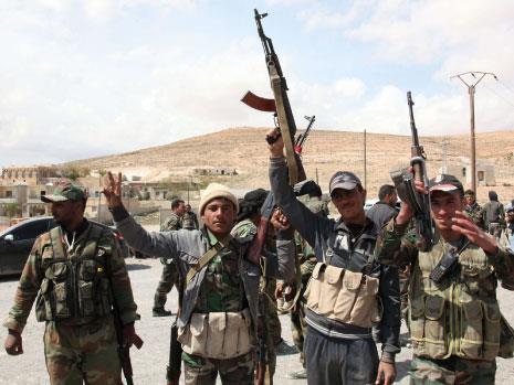 الجيش السوري يعلن انتصاره في القلمون