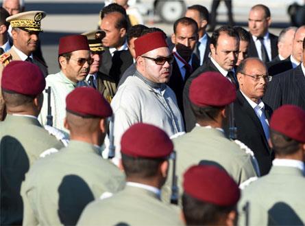 ماذا وراء زيارة ملك المغرب لتونس؟