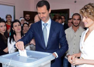 دمشق تقترع لـ «سوريا جديدة»... على وقع القصف
