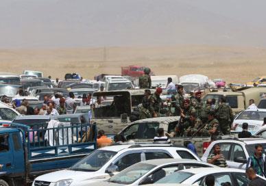 دولة البدو  في العراق الشام