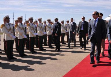 السيسي وبوتفليقة: معاً نواجه الإرهاب في ليبيا!