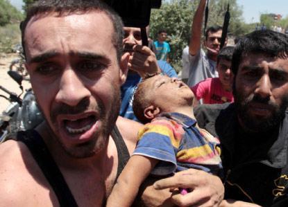 غزّة تُدمى... وإسرائيل تحت النار