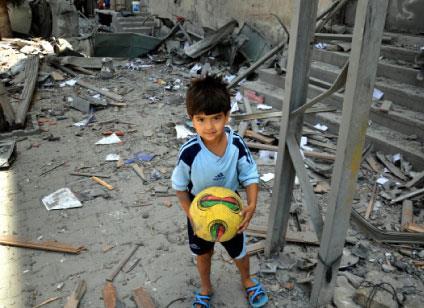 النازحون الجدد في غزة