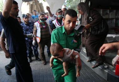 مجزرة جديدة في بيت حانون والهدف مدرسة وأطفال