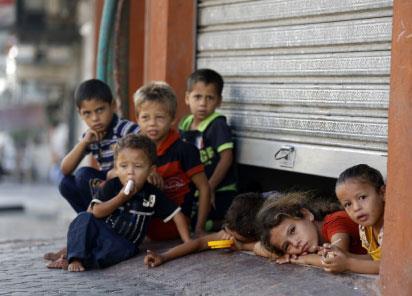 دماء متعددة الجنسيات روت تراب غزة